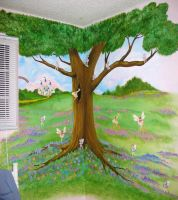 Stephanie's Mural by AthenaTT
