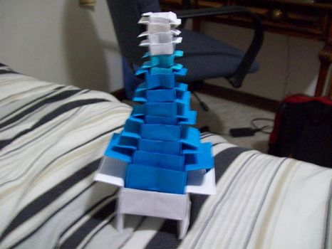 Origami Box Tower by knd2345