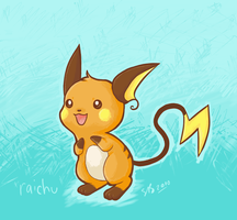 AR - Raichu for SuppieChan by atomicspacemonkey
