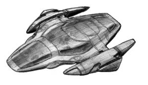 Spaceship design by PsiClops
