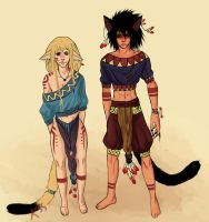 Mao and Tasaki - Panther Dreams by Laurir