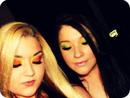 Tropical and Tinkerbell by MakeupbyRMF