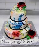 Tattoo cake front by buttercreamfantasies