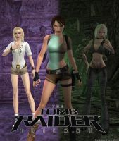 Tomb Raider Trilogy Render 2 by TeenRaider