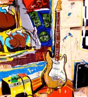Gallery Corner Guitar by Jacobbrest