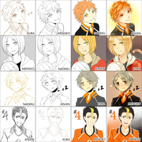 4around meme: Haikyuu by raitokura