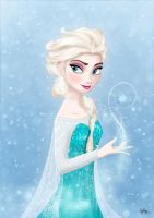 Elsa - Frozen by Egerlya