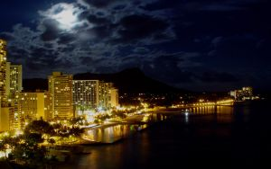 View of Honolulu by JayBird191