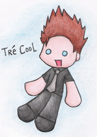 Tre' Cool plushie thing by dongpeiyen1000
