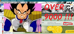 OVER 9000 PAGEVIEWS by ShiningRayWolf