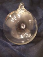 1st Witch's Ball Ornament by KimsButterflyGarden