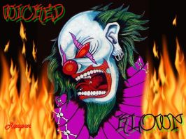 Wicked Clown by jackthereaper