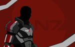 A True Leader (Mass Effect 3) by toxioneer