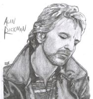 Alan Rickman by Evaschia