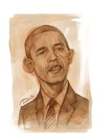 Obama sketch by StDamos