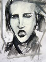 Marilyn Manson by 14th-division