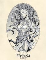 Classic Medusa 1887 by MichaelDooney