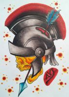 Spartan Skull by paintball0531