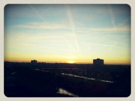 Landscape in Purmerend by pypol