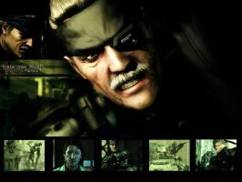 MGS 4 Wallpaper by mikeg8807
