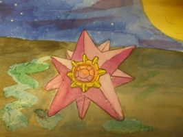 Strutting Starmie - Colour by JGLewis