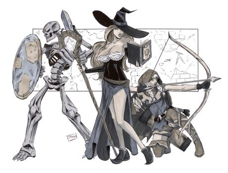 Heroes Con 2014: Dragon's Crown by Shono