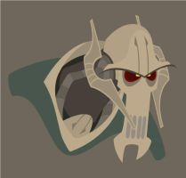 General Grievous Illustrator by yooki42