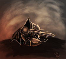 The Black Knight by DrManiacal