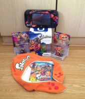 Splatoon Collection with Amiibo by extraphotos