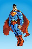 Superman colors by sketchheavy