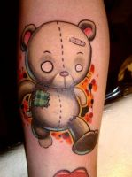 Jogging Teddybear by -sagie-