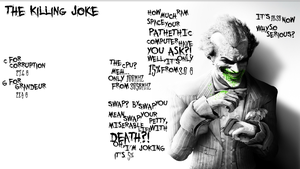 The Killing Joke by crucafix