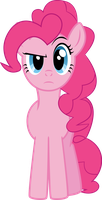 Skeptical Pinkie vector by stimpyrules
