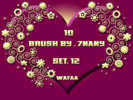 10 brush set 12 by 7nany