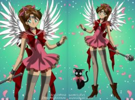Sailor Senshi: Aerith Gainsborough by HC-IIIX