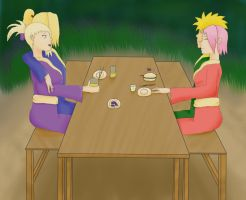 DeiIno, NaruSaku - Dinner by 69M00N69