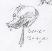Animal Office - Beaver Badger by HJTHX1138