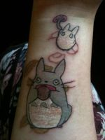 My Totoro Tattoo by Squishy-Mew