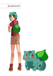 Bulbasaur by oPoof