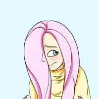 I'm Fluttershhhhh.... by glitterypencils