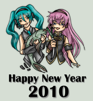 Happy New Year 2010 by elfgrove