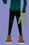 ??? Mystery Character WIP by Fantasy-Fashionista