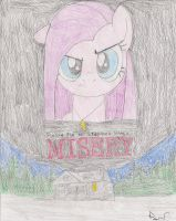 Pinkie Pie In Stephen Kings Misery by YourMainBrony