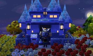 my house and character by NiccoRae77