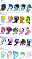 Foals for princess2109 ~OPEN~ by Goldenecho