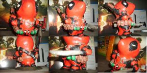 DeadPool Parrot Clay thing by Rikudo-Kan