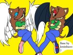 Vampire Victoria and Victoria Angel and Devil by victoriame