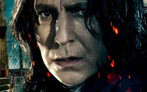 Hp7 Part2 Wallpaper snape by HarryPotter645