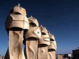 Gaudi Towers by Le-Cercle