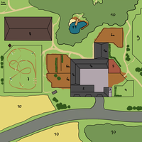 Caramel Meadow Stables Map I by Moeso